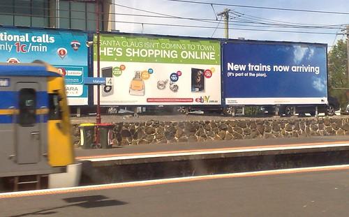 Victorian Transport Plan advertising, December 2009