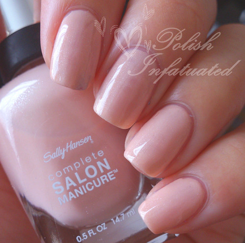 swatches review sally hansen complete salon manicure. Black Bedroom Furniture Sets. Home Design Ideas