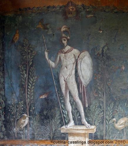 Casa della Venere in Conchiglia Wandmalerei
