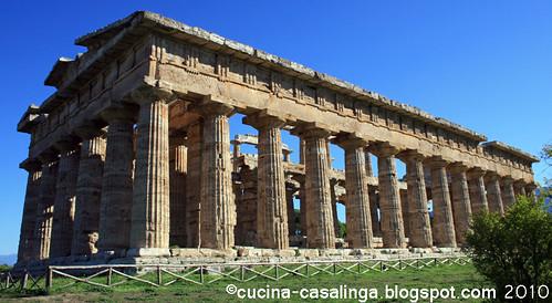 Paestum Tempel Neptun ganz