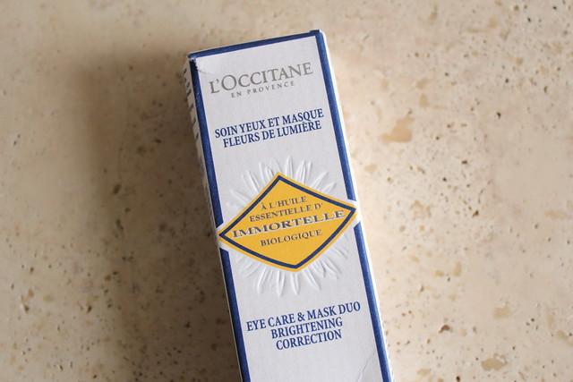 L'Occitane en Provence Immortelle Eye Care review