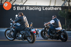 5 Ball Racing Leathers