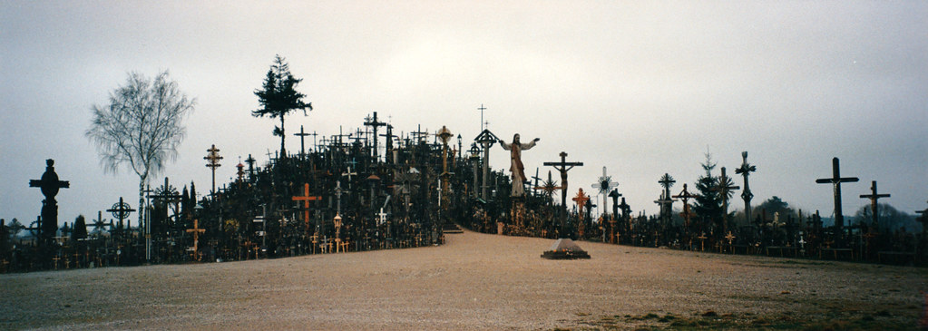 Hill of Crosses Panorama