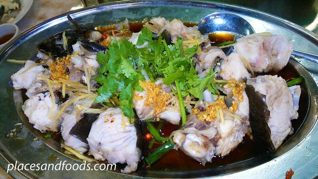 restoran yap yin steamed haruan
