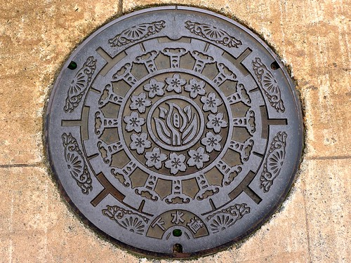 Japanese manhole covers » 富山...