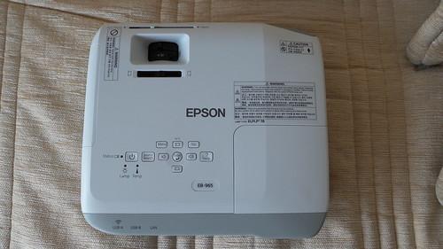 ด้านบนของ Epson EB-965