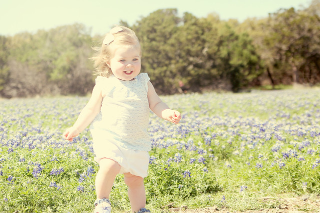 Harper in the Texas Bluebonnets