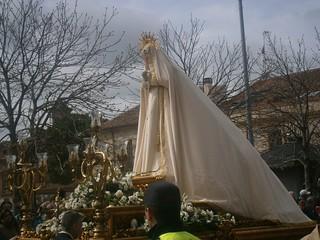 Paso de la Virgen.