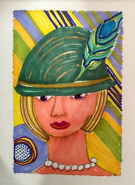 Women in hats.