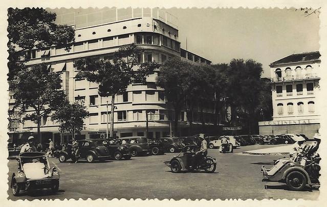 SAÏGON 1952 - Rue Catinat