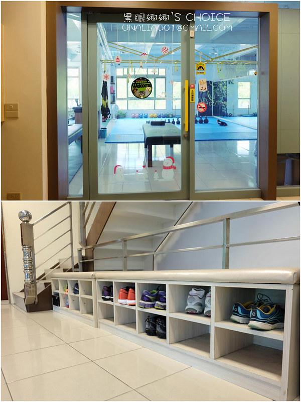 台南康體運動空間2F門口
