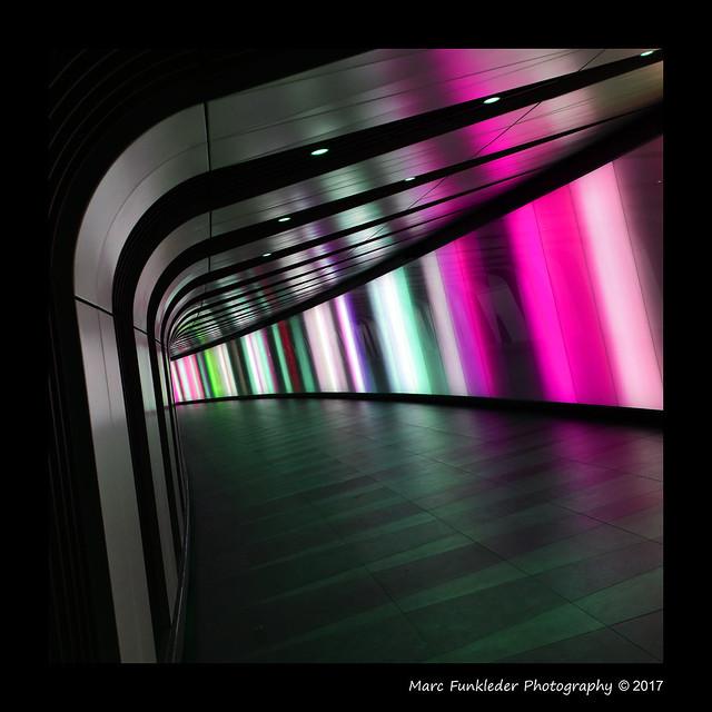Saint Pancras - King's Cross Station Corridor, London