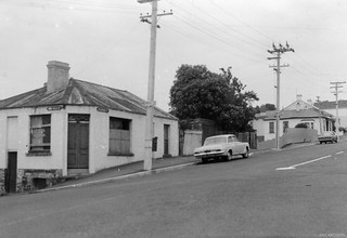 Corner of Melville and Stafford Streets, 15 December 1969