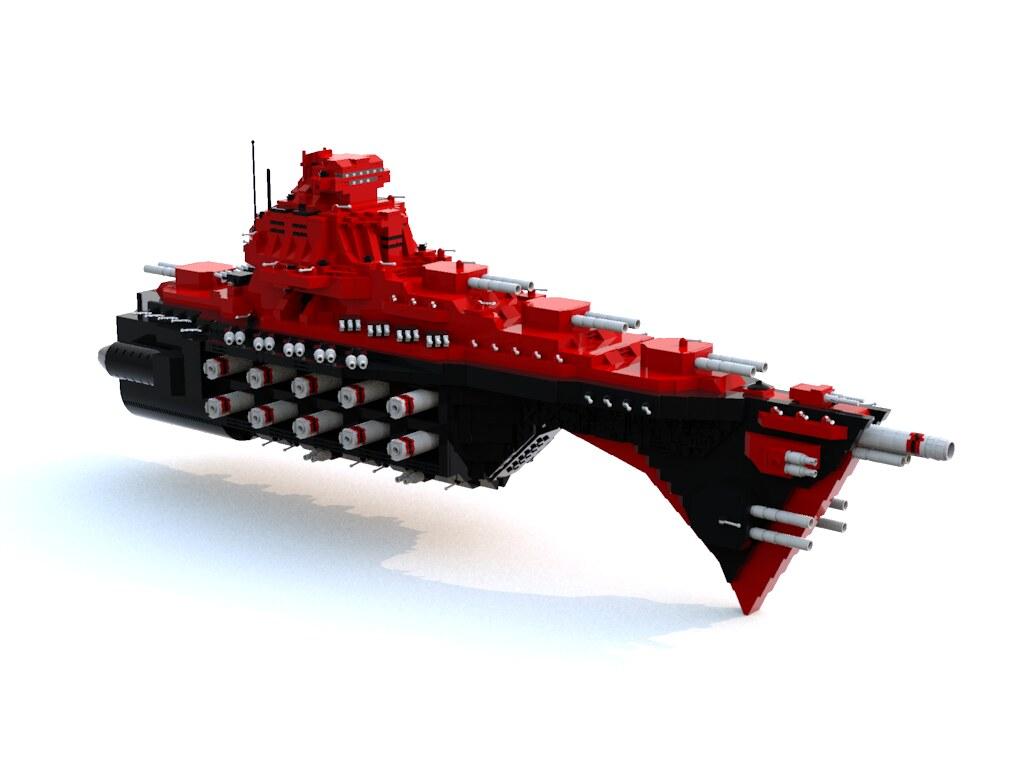Thanatos (custom built Lego model)