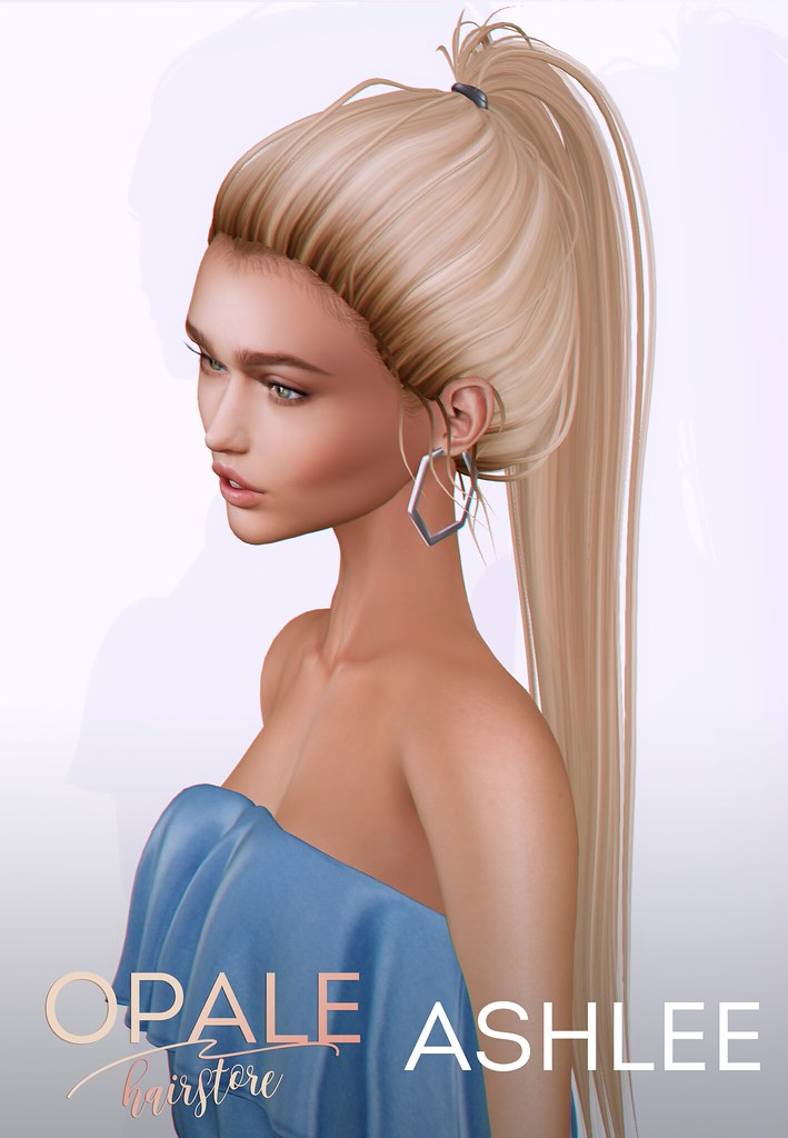 Opale Hair . Ashlee @ HairOLogy April 2017 - SecondLifeHub.com