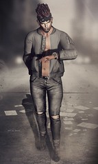 <EMOZIONE> Gift Pose male ** Life Can Be A Rush**! AD