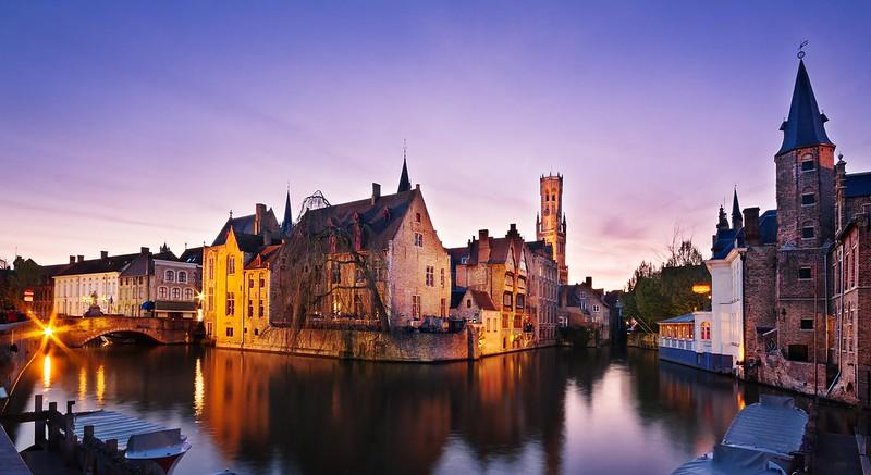 Bruges at Dusk