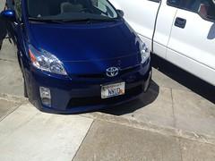 automobile, automotive exterior, toyota, wheel, vehicle, compact car, bumper, toyota prius, land vehicle,