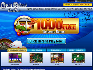 Rich Reels Casino Home