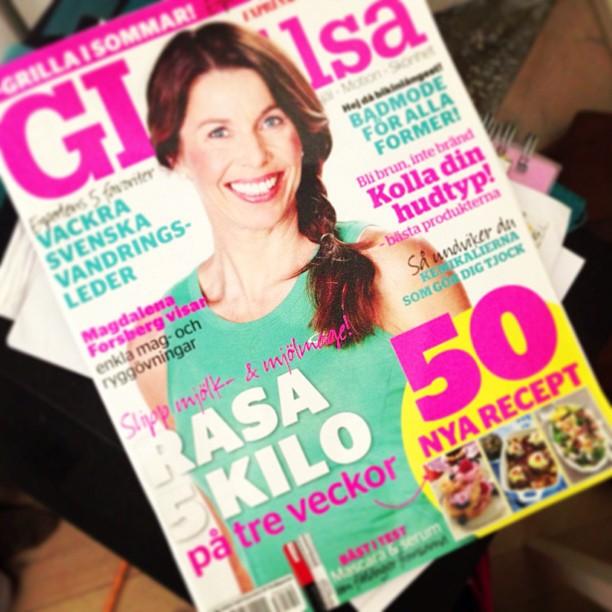I nya GI&Hälsa snackar jag med Magdalena Forsberg om elitkarriären, vardagen hemma i Bergeforsen och om hur hon håller sig skadefri. Inspirerande kvinna!