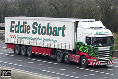 Scania R420 6x2 Tractor - PN11 WTJ - Nicola Belle - Eddie Stobart - M1 J10 Luton - Steven Gray - IMG_2920