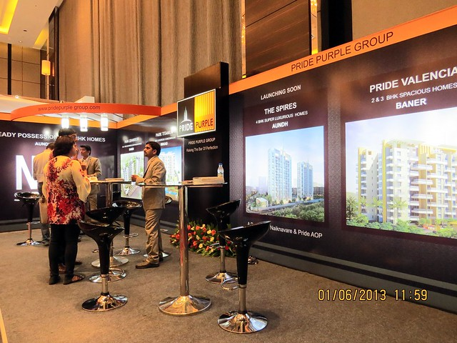 www.pridepurplegroup.com - Visit Times Property Showcase 2013, 1st &2nd June 2013, JW Marriott, S B Road, Pune