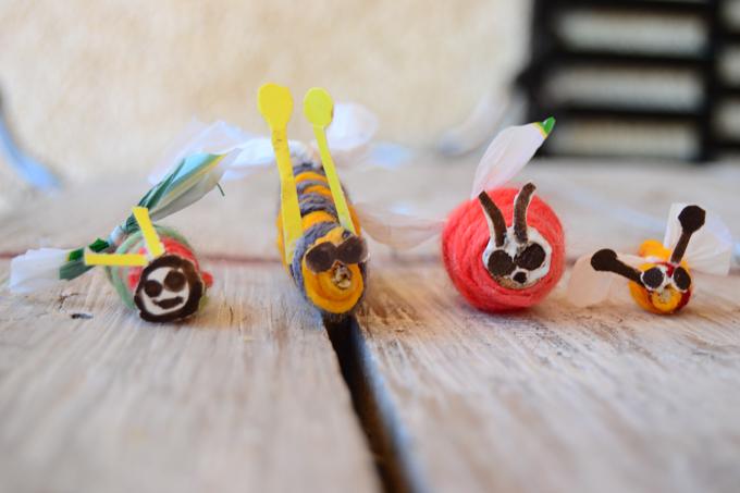 personajes de lana