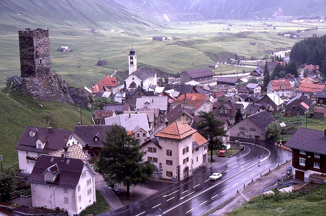 St Gotthard Pass, Switzerland, 1969