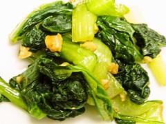 小松菜の胡桃和え