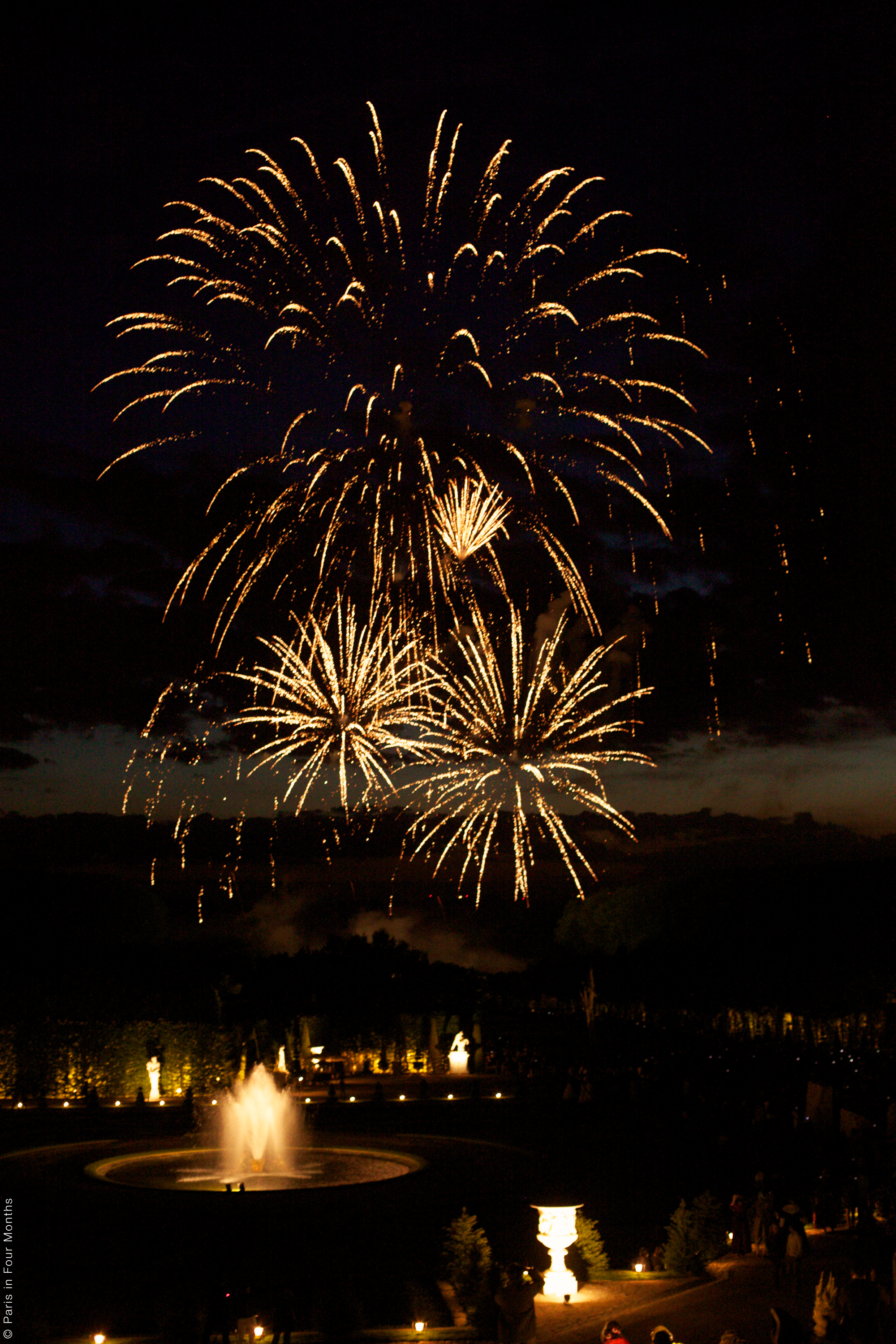 Fireworks Show at Versailles