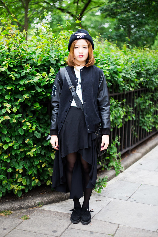 Street Style - Cassie, London Collections