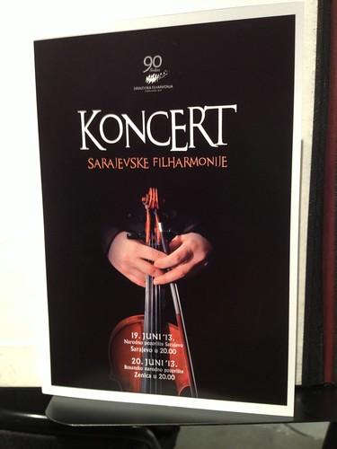 Sarajevo Philharmonic Program Ning Feng