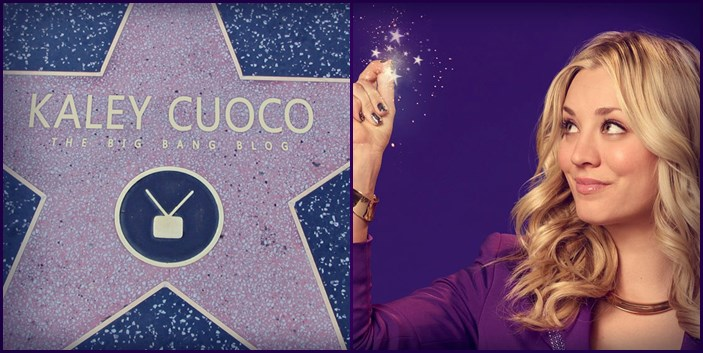 Kaley Cuoco Walk of Fame