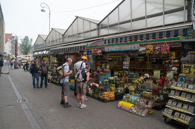 アムステルダム 花市場
