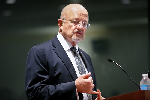 DNI James Clapper speaks to NSEC