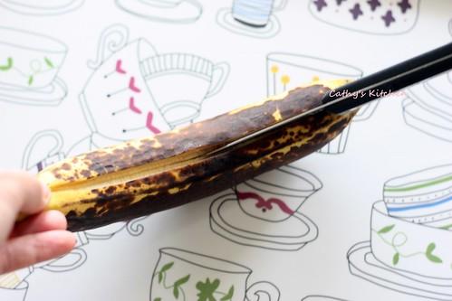 香蕉綿花兒一條船 Grilled banana 6
