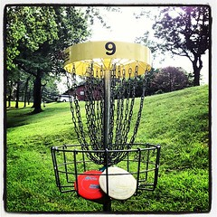 #RiseAndShine #DiscGolf #9YellowCourse