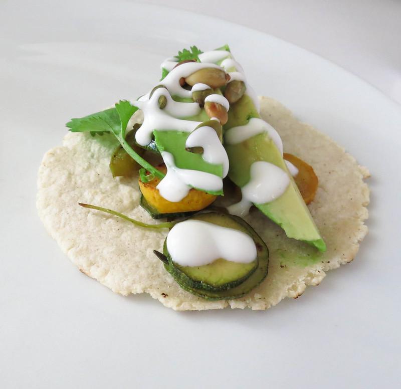 Squash taco