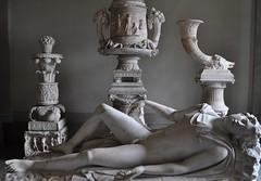 Endymion, musée des Antiquités de Gustave III, Palais royal, Gamla stan, Stockholm, Suède.