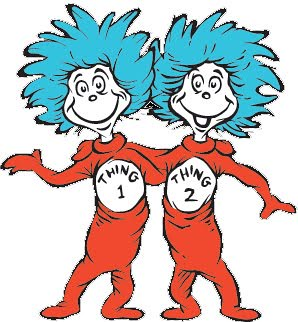 Thing 1 and 2 - Inspiration