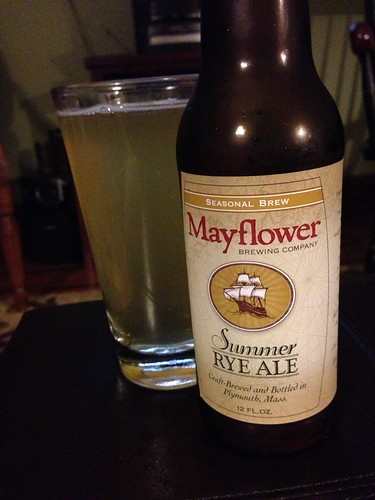 Mayflower Brewing Company Summer Rye Ale