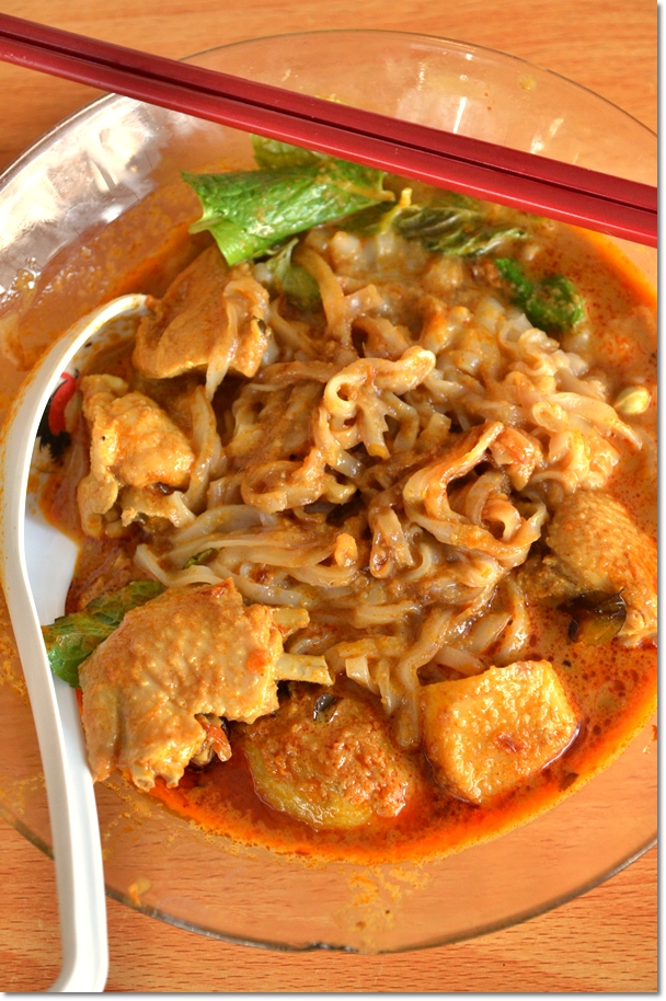 Moon De Moon Dry Curry Mee