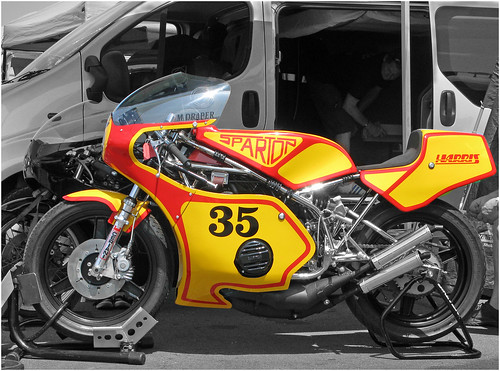 Sparton Harris Framed Two Stroke Racing Motorcycle by davekpcv
