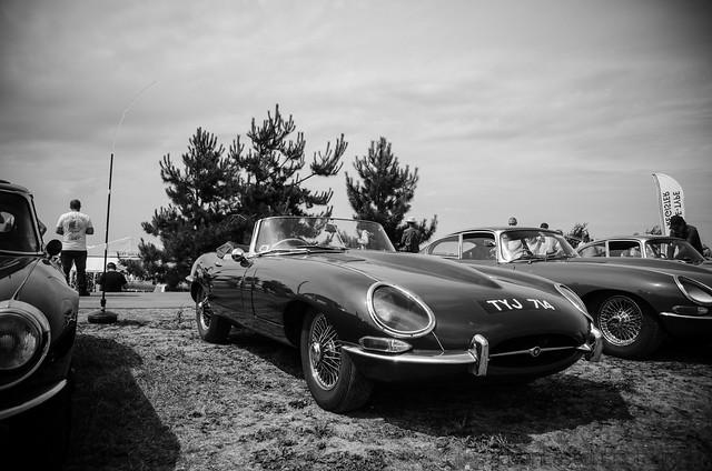 Jaguar E-Type, Silverstone Classic.