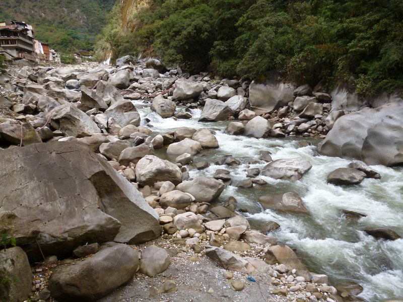 River of Aguas Calientes
