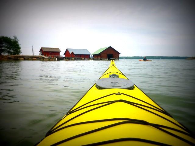 Sea kayaking in the Kimitoön Archipelago
