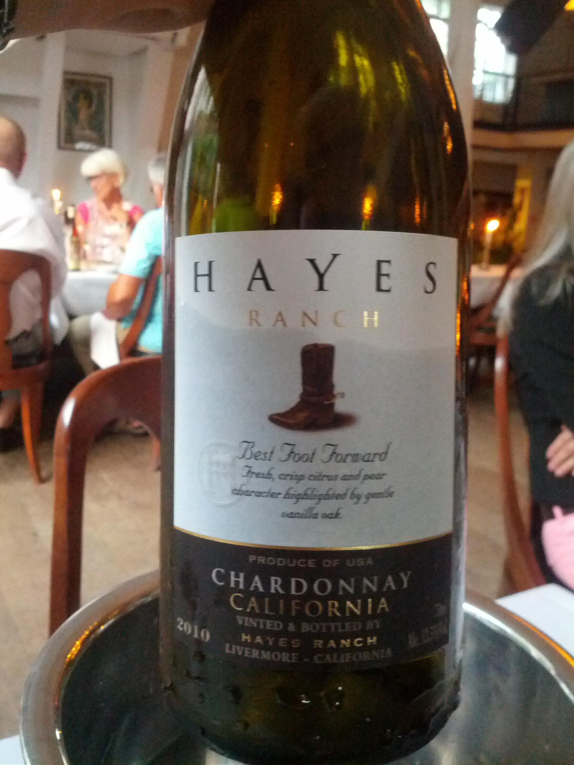 Hayes Ranch, Chardonnay, hvidvin
