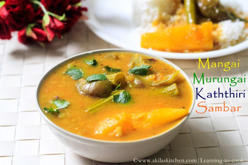 Sambar without sambar powder