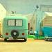 Retro Van and Trailers by Philip J. Harris