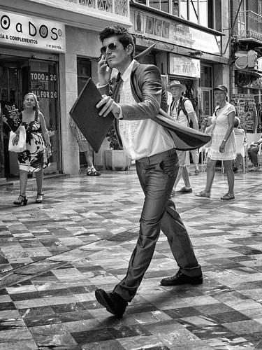 Pidiendo pista by Andrés Ñíguez